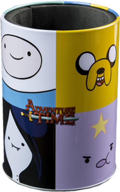 Adventure Time - Faces Metal Can Cooler-IKO0670