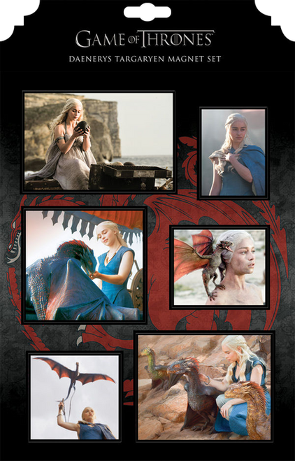 Game of Thrones - Daenerys Magnet Set-DHC26-655
