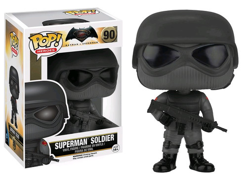 Batman v Superman: Dawn of Justice - Superman Soldier Pop! Vinyl-FUN7579