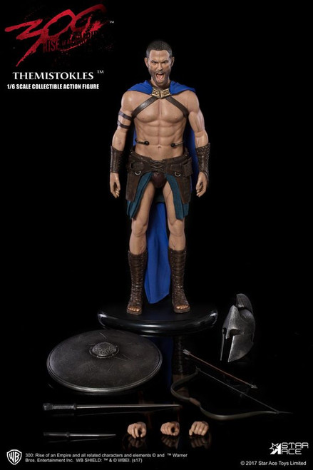 "300 - Themistocles 12"" 1:6 Scale Action Figure-SATSA0031"