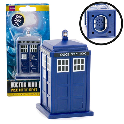 Doctor Who - TARDIS Bottle Opener-WESDR253