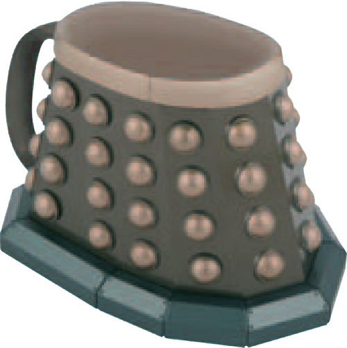 Doctor Who - Dalek Base 3D Mug-WESDR237A