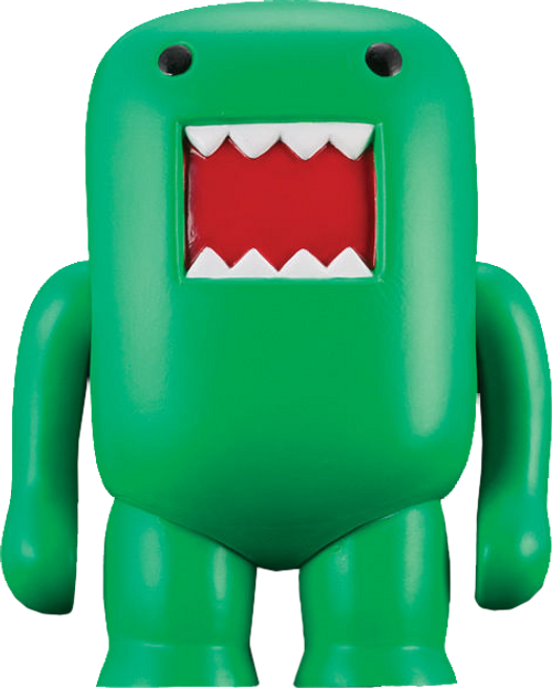 "Domo - 4"" Vinyl Figure Black-light Green-DHC20-728"