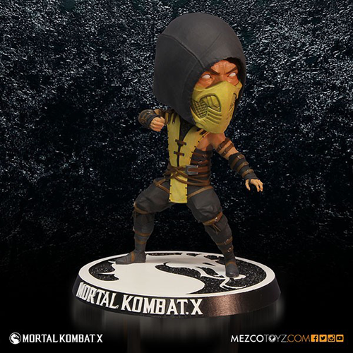 Mortal Kombat - Scorpion Bobble Head-MEZ89260
