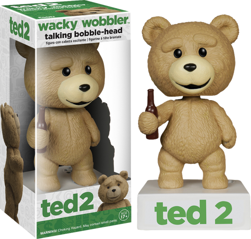 Ted 2 - Ted Talking Wacky Wobbler (PG Rated)-FUN5910