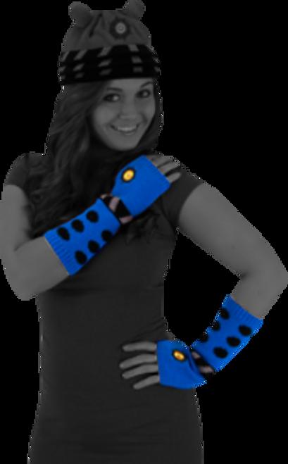 Doctor Who - Dalek Arm Warmers (Blue)-ELO431651