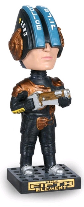 The Fifth Element - Police Bobble Head-AFPOLICEBOBB