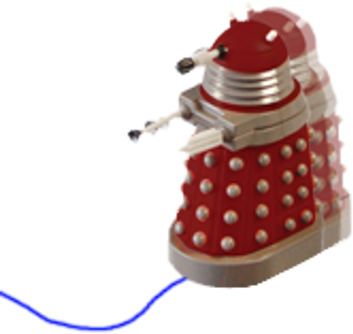 Doctor Who - Dalek Line Tracker-WESDR243