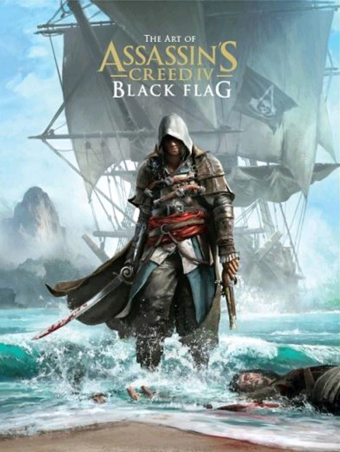 Assassin's Creed 4: Black Flag - Art of Assassin's Creed 4 Black Flag Hardcover Book-TITAC4-BF