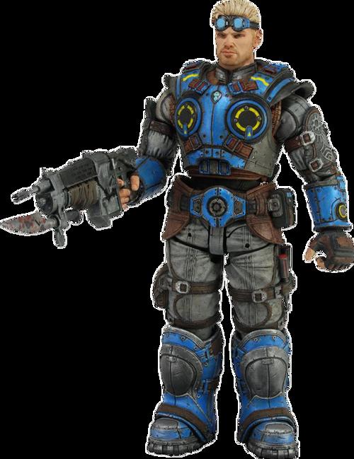 """Gears of War Judgement - Baird 7"""" Action Figure-NEC52237"""
