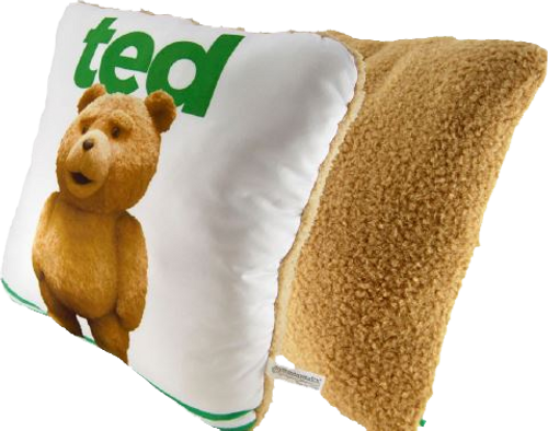 Ted 2 - Head Pillow with Sound (Explicit)-CTN98102