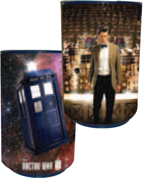 Doctor Who - TARDIS & Dalek Talking Bin-WESDR247