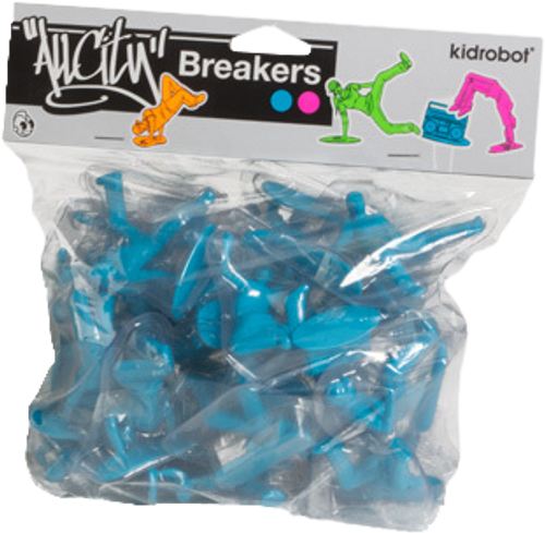 All City Breakers - Mini Vinyl Electric Blue 20-Pack-KIDT11UT004