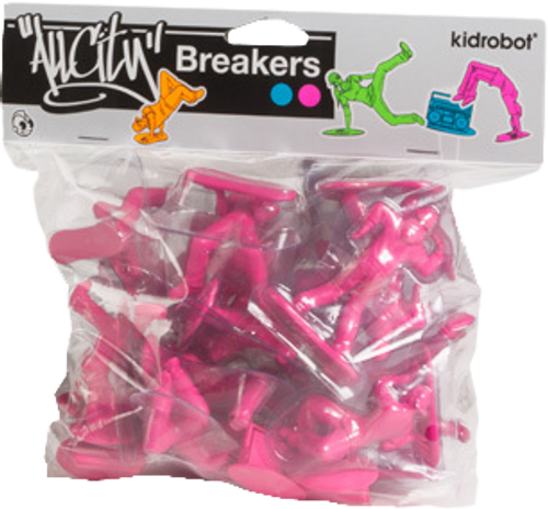 All City Breakers - Mini Vinyl Electric Pink 20-Pack-KIDT11UT003