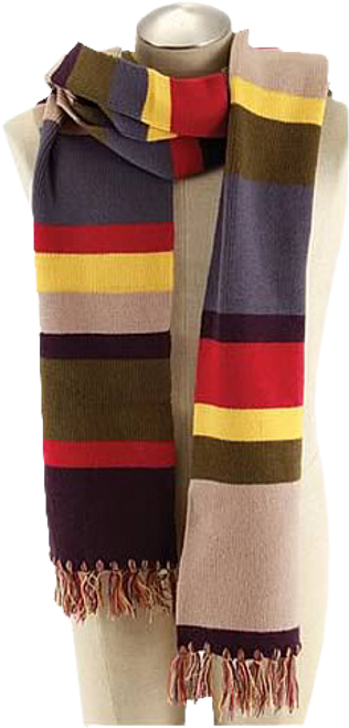Doctor Who - Fourth Doctor 12 Foot Scarf-ELO444330