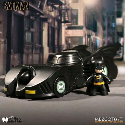 Batman - 1989 Batman & Batmobile Mez-Itz-MEZ38205