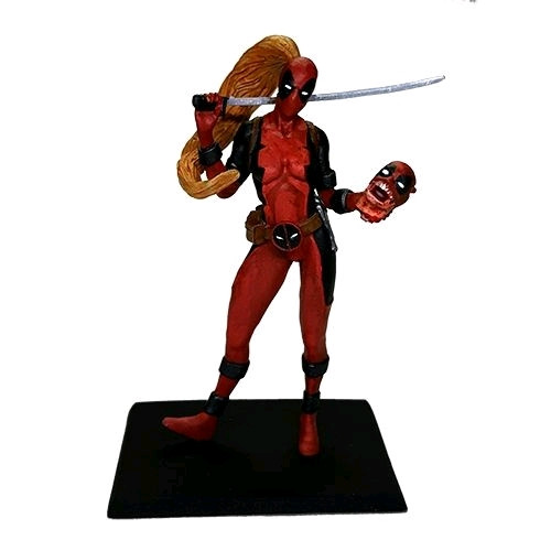 Deadpool - Lady Deadpool Metal Miniatures-FAC408164