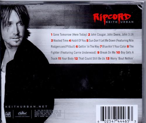 KEITH URBAN-RIPCORD-Brand New/Still sealed
