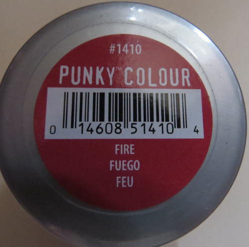 Punky Colour-FIRE RED-100ml HAIR DYE Jerome Russell- New/Sealed-Punk