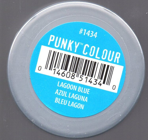 Punky Colour-LAGOON BLUE-100ml HAIR DYE Jerome Russell- New/Sealed-Punk
