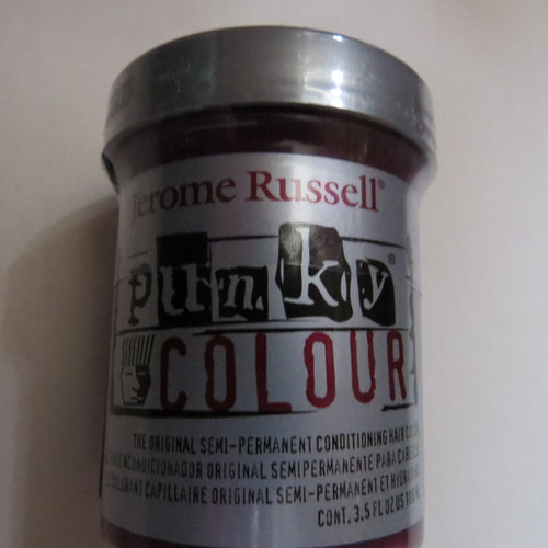 Punky Colour-POPPY RED-100ml HAIR DYE Jerome Russell- New/Sealed-Punk