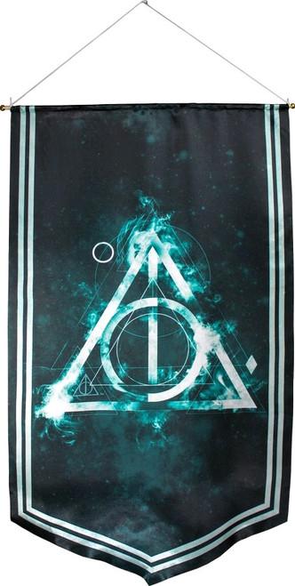 Harry Potter - Deathly Hallows Satin Banner-115cm x 70cm-IKO1237