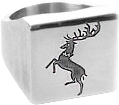 Game of Thrones - Baratheon Ring Size 7-OGD433834S7