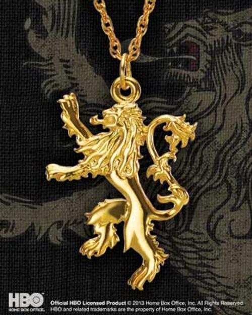 Game of Thrones - Lannister Golden Pendant-NOBNN0062