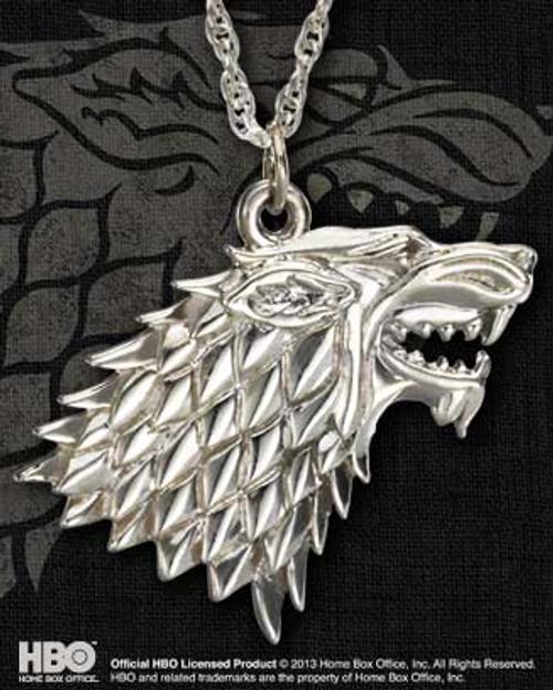 Game of Thrones - Stark Pendant-NOBNN0065