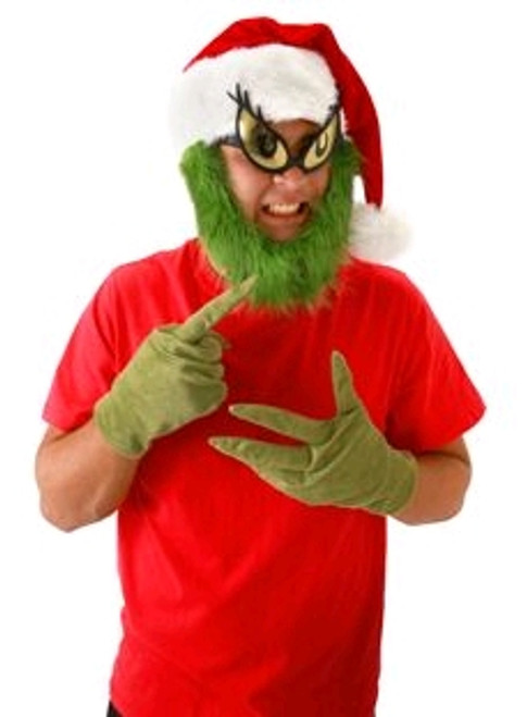 Dr Seuss - The Grinch Hat with Beard-ELO291261SC