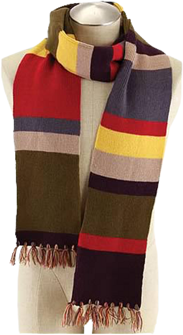 Doctor Who - Fourth Doctor 6 Foot Scarf-ELO444331