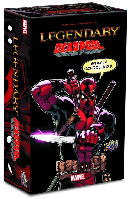Marvel Legendary - Deck-Building Game Deadpool Expansion-UPP86326