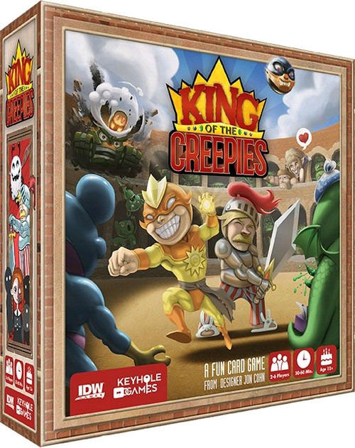 King of the Creepies - Card Game-IDW1296