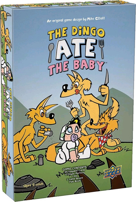 The Dingo Ate the Baby - Board Game-UPP87208