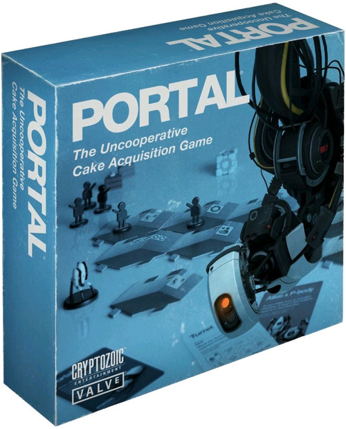 Portal - Uncooperative Cake Acquisition Board Game-CRY01823
