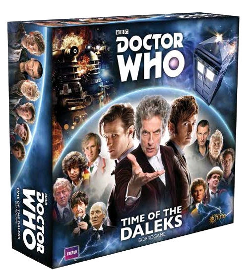 Doctor Who - Time of the Daleks Board Game-GF9DW001