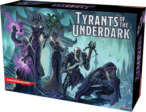 Dungeons & Dragons - Tyrants of the Underdark Board Game-GF974001