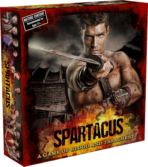 Spartacus - A Game of Blood and Treachery Board Game-GF9SPAR001