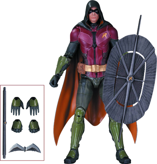 Batman: Arkham Knight - Robin Action Figure-DCCJUN150342