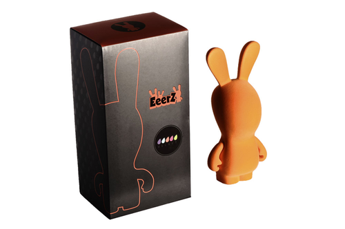 "Rabbids - Raving Rabbids 11"" Orange Velvet Rabbid-UBIVELRABORA"