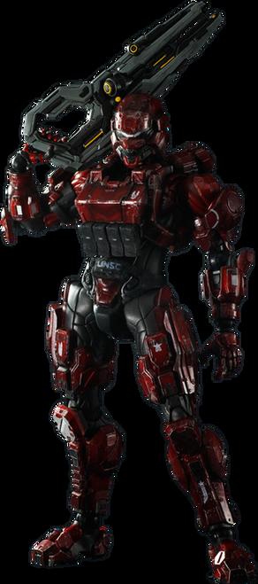 Halo 4 - Spartan Soldier Play Arts Action Figure-SQU81238