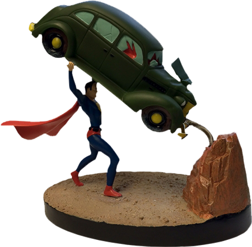 Superman - Action Comics #1 Premium Motion Statue-FAC408329