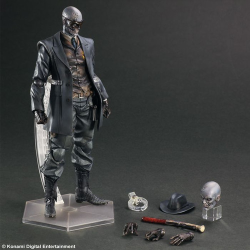 Metal Gear Solid V - Skull Face Play Arts Action Figure-SQU81523