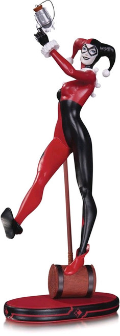DC Cover Girls - Harley Quinn Statue 2nd Edition-DCCJUN160390