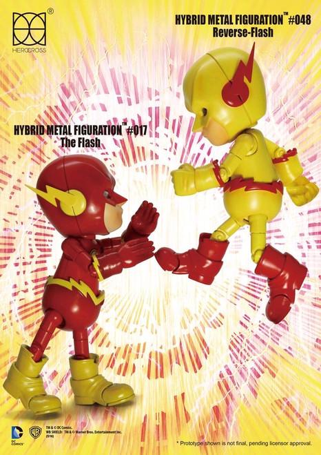 The Flash - Flash Battle 2-Pack Hybrid Metal Figuration-HERHMF307