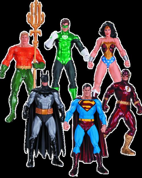 Justice League - Action Figures 6-Pack (Alex Ross)-DCCJUN150332