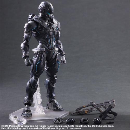 Halo 5: Guardians - Spartan Locke Play Arts Action Figure-SQU81645
