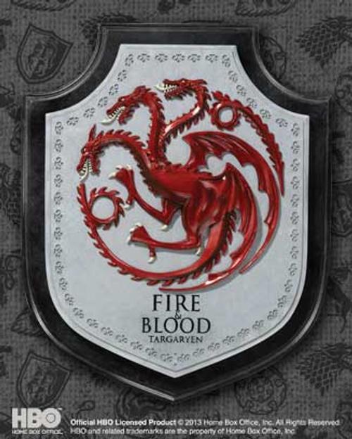 Game of Thrones - Targaryen House Crest Plaque-NOBNN0055