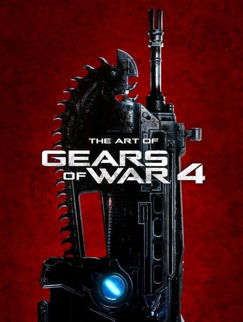 Gears of War - The Art of Gears of War 4 Book-DHC31-173