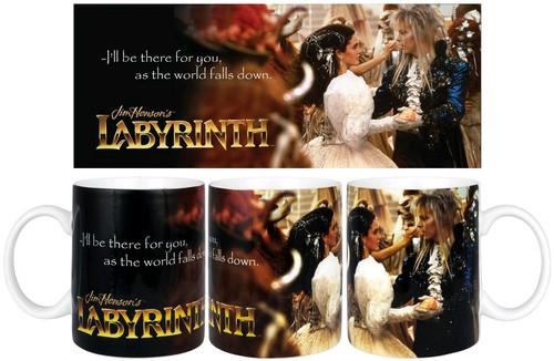 Labyrinth - World Falls Down Mug-IKO1043